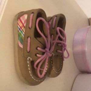 Sperry baby topsiders